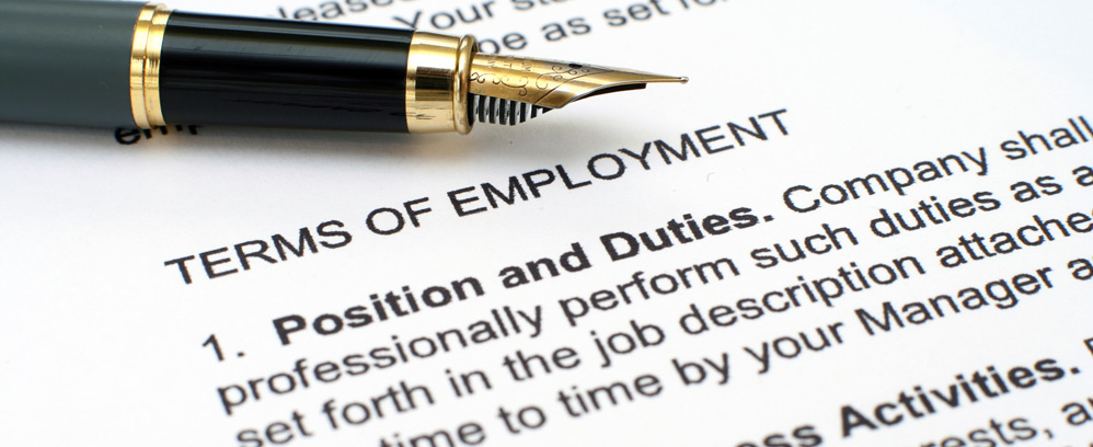 Area of Practice – Executive Employment Contract